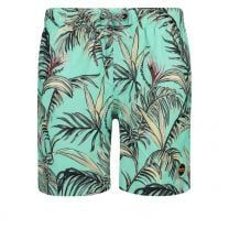 Shiwi heren zwembroek - tropisch groen