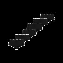 Puma basic 6-pack mini short - zwart