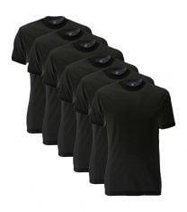 Alan Red 6-pack Virginia t-shirt- zwart
