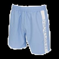 Hugo Boss heren zwembroek logo stripe Dolphin - lichtblauw.