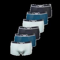 Emporio Armani 6-pack boxershorts - blauw