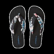 O'Neill slippers dames - zwart/blauw