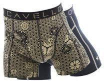 Cavello boxershorts 2-pack mystic flower print / all black