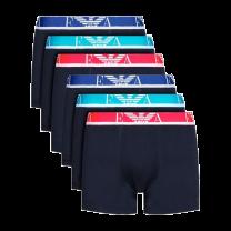 Emporio Armani 6-pack boxershorts - blauw/marine