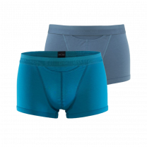 HOM HO1 2-pack boxer brief blue/stormy grey