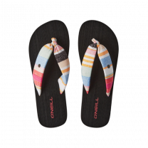 O'Neill slippers dames - geel/rood