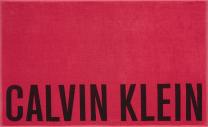 Calvin Klein badhanddoek - roze/rood