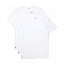 Lacoste 3-pack t-shirts O-hals - wit