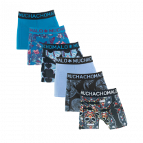 Muchachomalo 6-pack boxershorts boys Bats en Muerto