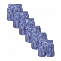 Zaccini 6-pack woven boxershorts - navy