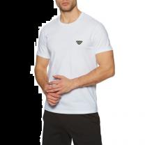 Emporio Armani t-shirt regular fit - logo/wit
