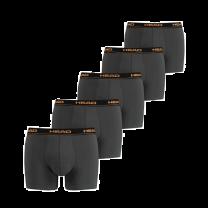HEAD boxershorts 5-pack - dark shadow