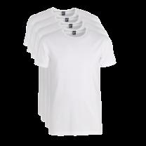 Alan Red 4-Pack T-shirts OTTAWA, Crew Neck, Wit