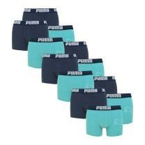 Puma 12-pack boxershorts statement bold cat - blauw/aqua