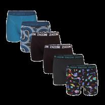 Zaccini 6-pack boxershorts - retro