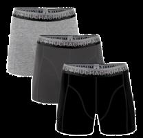 Muchachomalo 3-pack boxershorts Solid- effen