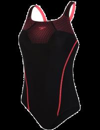 Speedo tech placement badpak / rood-roze