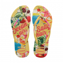 Havaianas slim summer slippers - citroengeel
