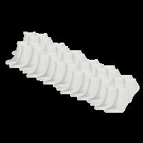 Tommy Hilfiger 12-pack sokken - wit