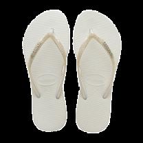 Havaianas slim sparkle slippers - wit