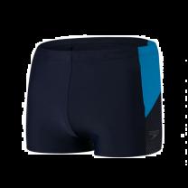 Speedo aquashort dive blauw