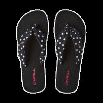 O'Neill slippers dames dots - zwart/wit
