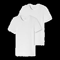 Schiesser 3-pack t-shirt O-hals - wit