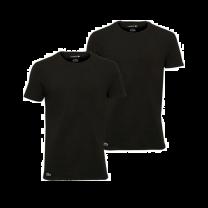 Lacoste 2-pack t-shirts ronde hals - zwart