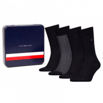 Tommy Hilfiger 4-pack sokken giftbox - dots