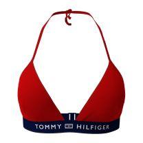 Tommy Hilfger bikinitop triangel - rood