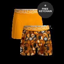 Muchachomalo 2-pack boxershorts boys football incl. keychain