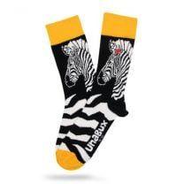 Unabux sokken zebra