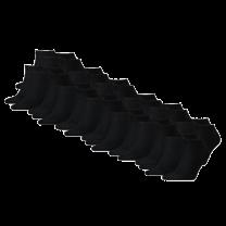 Tommy Hilfiger 12-pack sneaker sokken - zwart