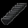 Schiesser 9-pack Rio heren slips - zwart