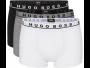 Hugo Boss boxer 3 pack trunk zwart grijs wit