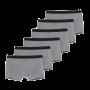 Schiesser 6-pack boxershorts - grijs