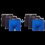 Nike 6-pack boxershorts brief mannen blauw/navy/zwart