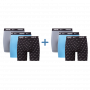 Nike 6-pack brief boxershorts blauw/grijs/zwart
