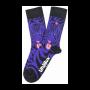 Unabux sokken purple tiger