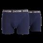 zaccini 2 pack boxershorts navy