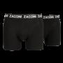 zaccini 2 pack boxershorts zwart