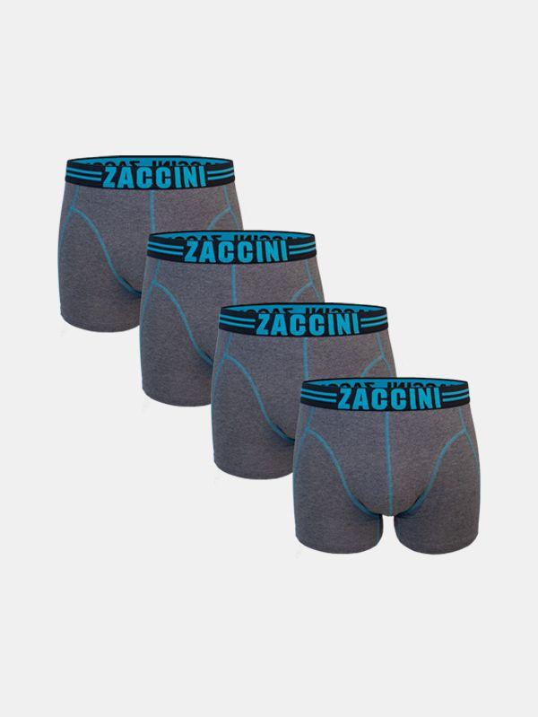 Zaccini 4-pack grey aqua