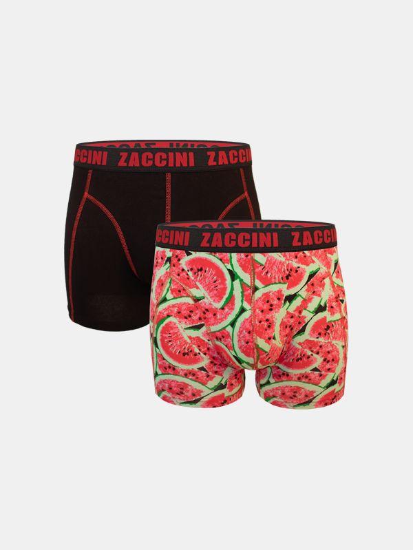 Zaccini 2-pack boxershorts meloenen