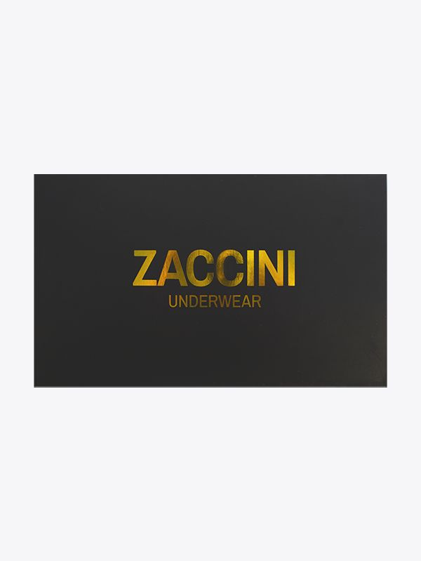 Zaccini 4-pack giftbox gold stripe en gold star