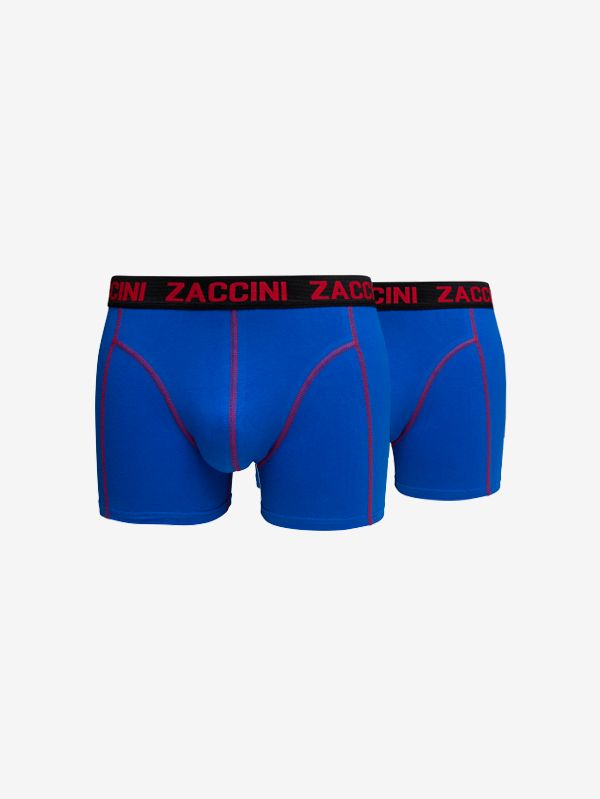 Zaccini 2-pack boxershorts royal blue