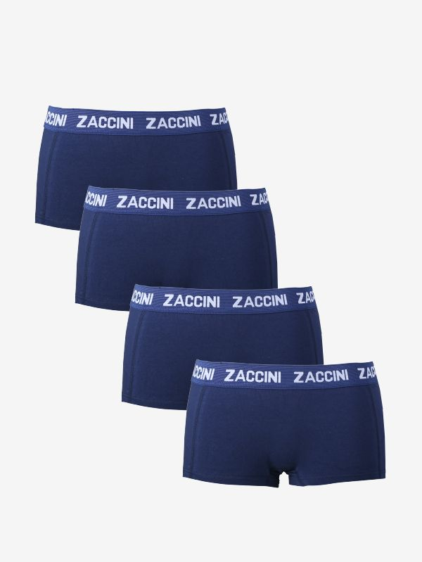 4-pack dames hipsters navy