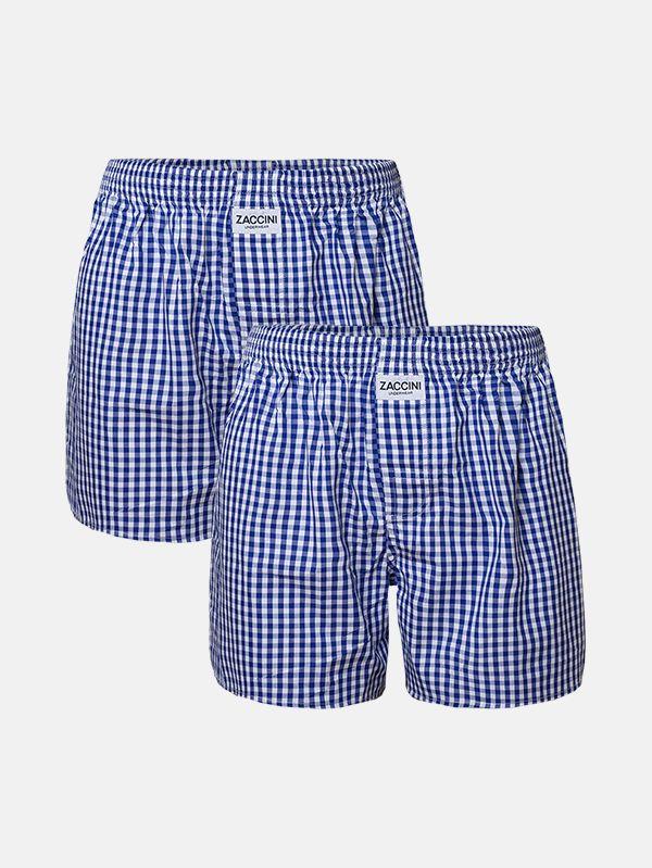 Zaccini 2-pack boxershorts woven navy