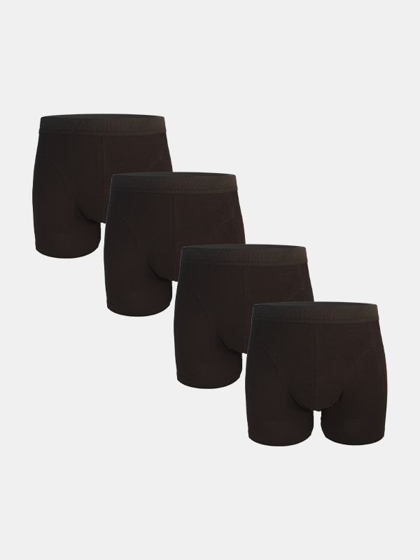 Zaccini 4-pack black on black