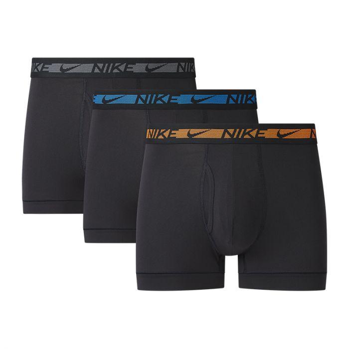 Nike 3-pack trunk boxershorts heren zwart - M12