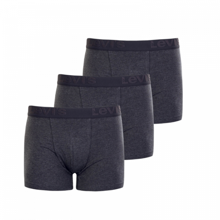 Levi's 3-pack boxershorts - grijs